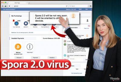 Spora 2.0 virusas