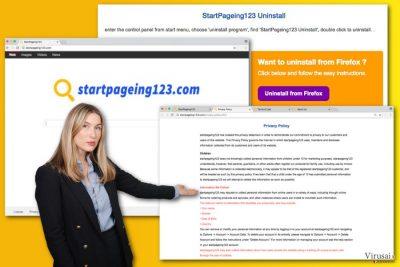 StartPageing123.com virusas
