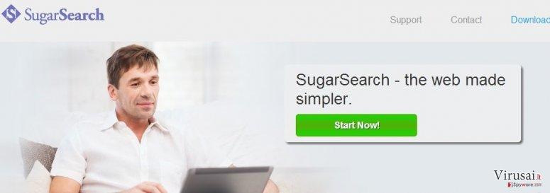 SugarSearch ekrano nuotrauka
