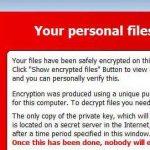 TeslaCrypt virusas ekrano nuotrauka