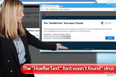 """""""The HoeflerText font wasn't found"""" virusas"""