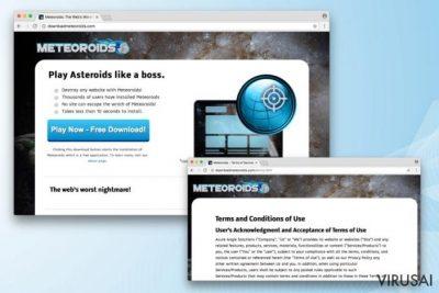 Meteoroids virus