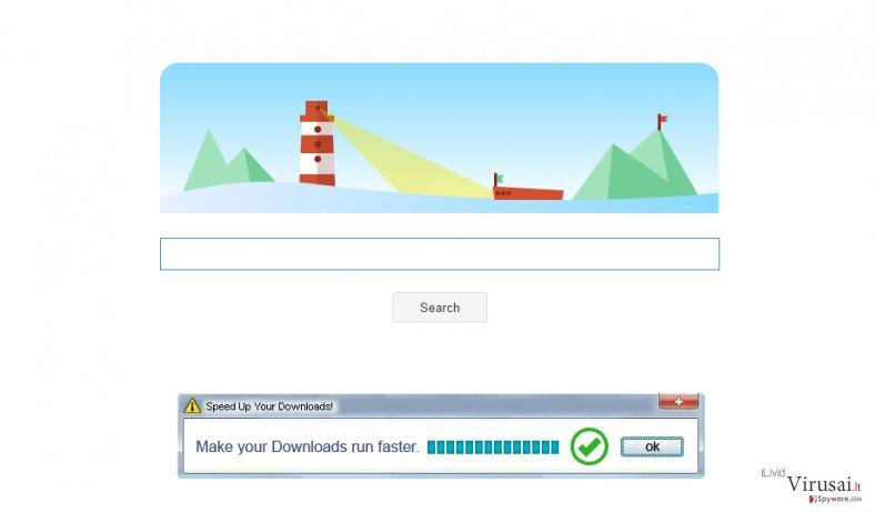 Tikotin Search ekrano nuotrauka