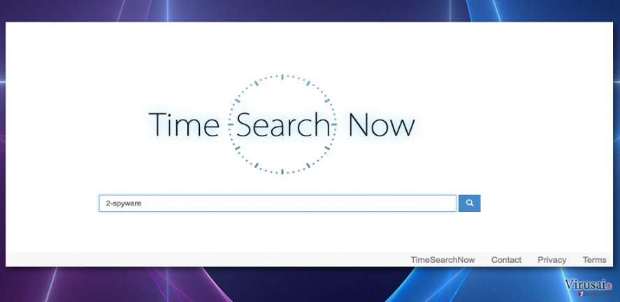 Timesearchnow.com viruso nuotrauka