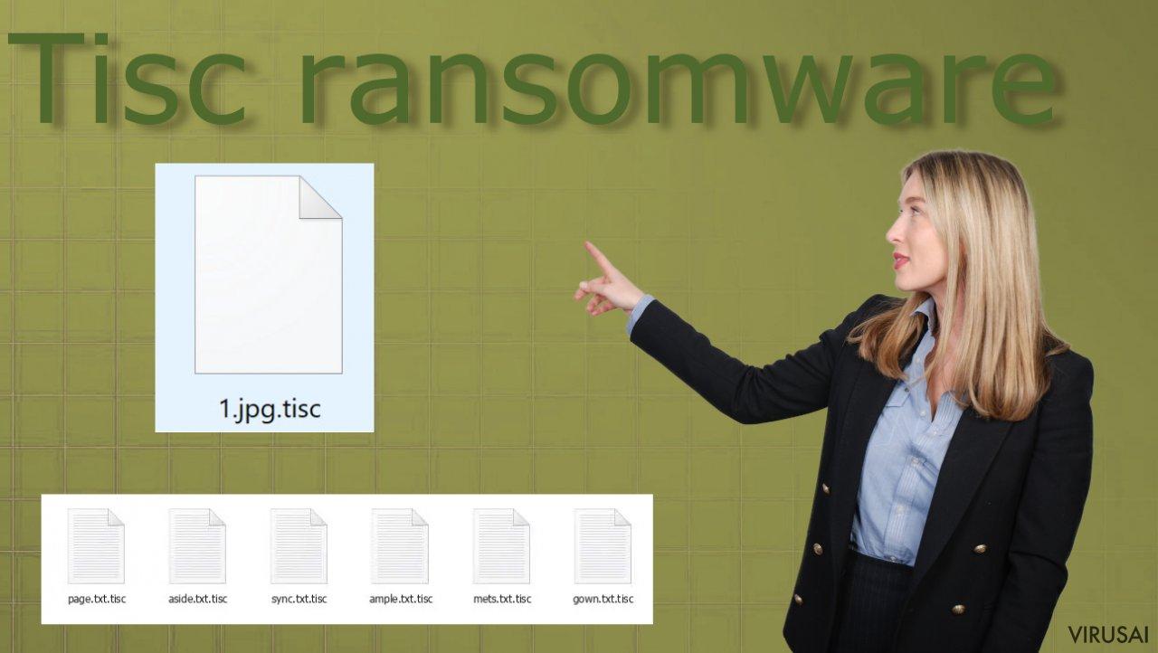 Tisc  failų užrakinimo virusas