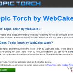 Topic Torch ekrano nuotrauka