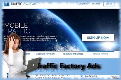 Traffic Factory virusas