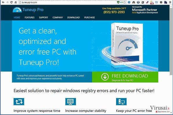TuneUp Pro ekrano nuotrauka