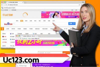 Uc123.com virusas