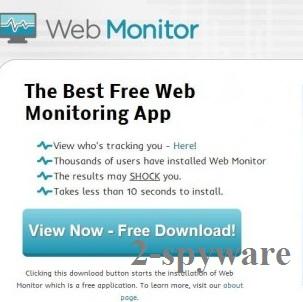 Web Monitor ekrano nuotrauka