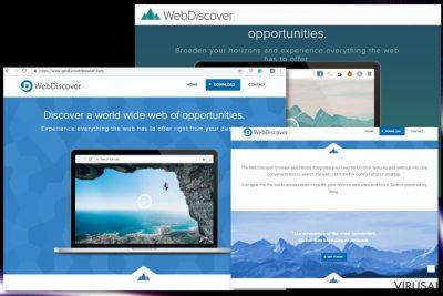 Webdiscover naršyklė