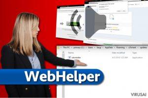 WebHelper virusas