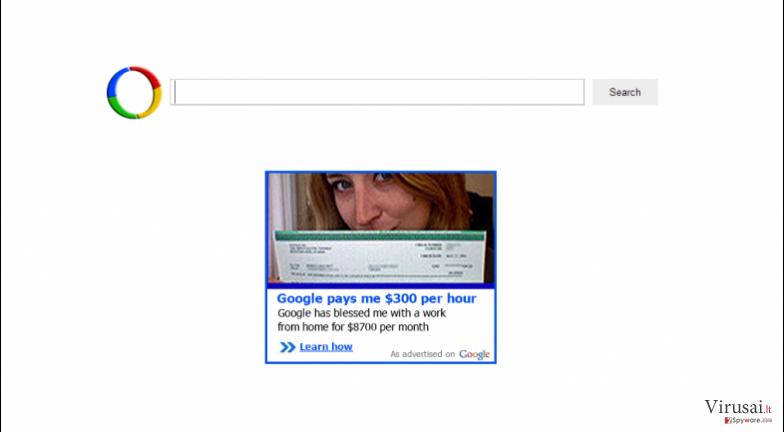 Websearch.WebIsGreat.info ekrano nuotrauka
