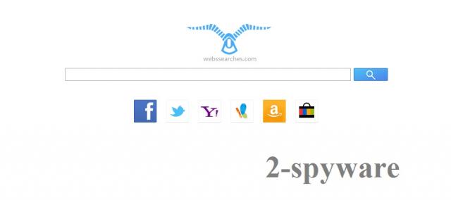 WebsSearches.com ekrano nuotrauka