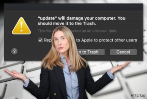 Will damage your computer. You should move it to the Trash