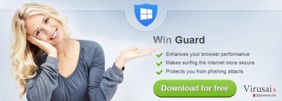 WinGuard ekrano nuotrauka
