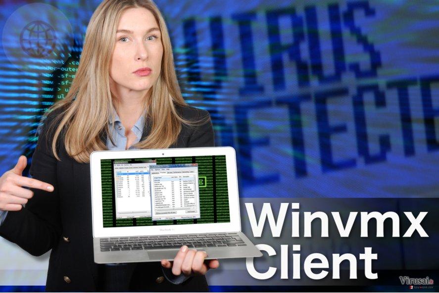 Winvmx Client viruso pavyzdys