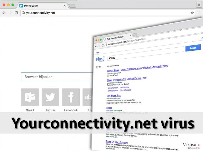 Yourconnectivity.net viruso pavyzdys