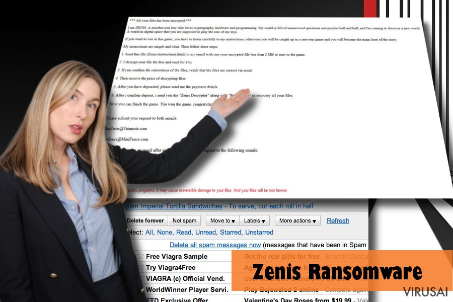 Zenis ransomware