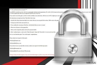 Zenis ransomware