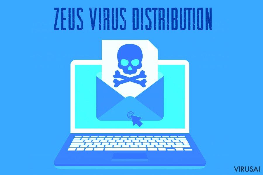 Zeus viruso plitimo būdai