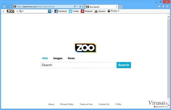 ZOO įrankių juosta ekrano nuotrauka