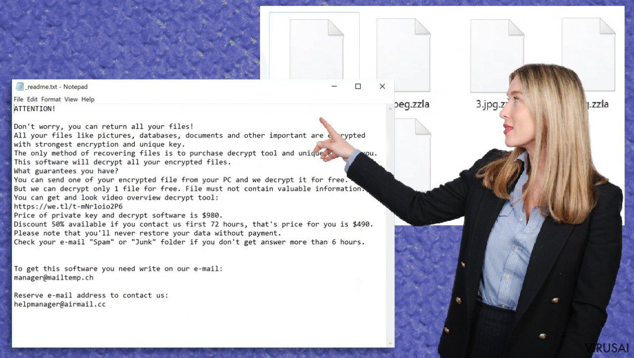 Zzla failų virusas